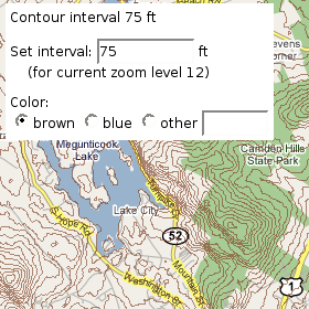 Hey Whats That Mapplet Frequently Asked Questions - What's the current elevation